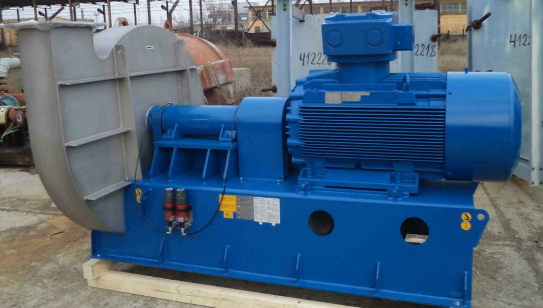 Flue Gas Blower : Delivery installation commissioning and startup of